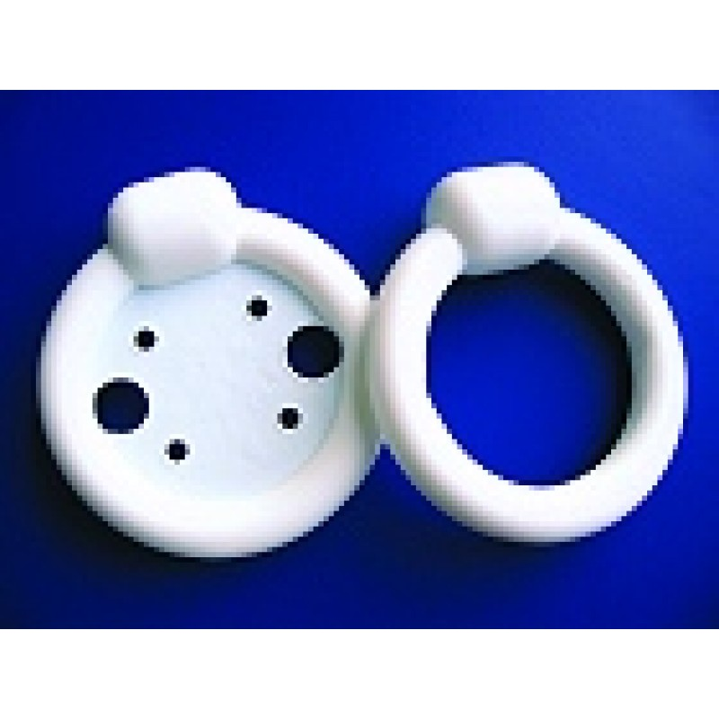 "Bioteque RKS3 - Ring Pessary with Knob with Support 2.50"" (RK2.50S#3), EA"