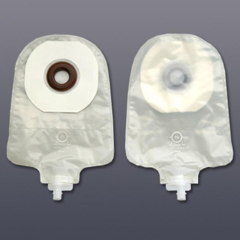 "Lo-Profile Urostomy Pouch with Karaya Seal, Clear, (OD 1 1/2"") Stoma Size 1 1/8"" 29mm"