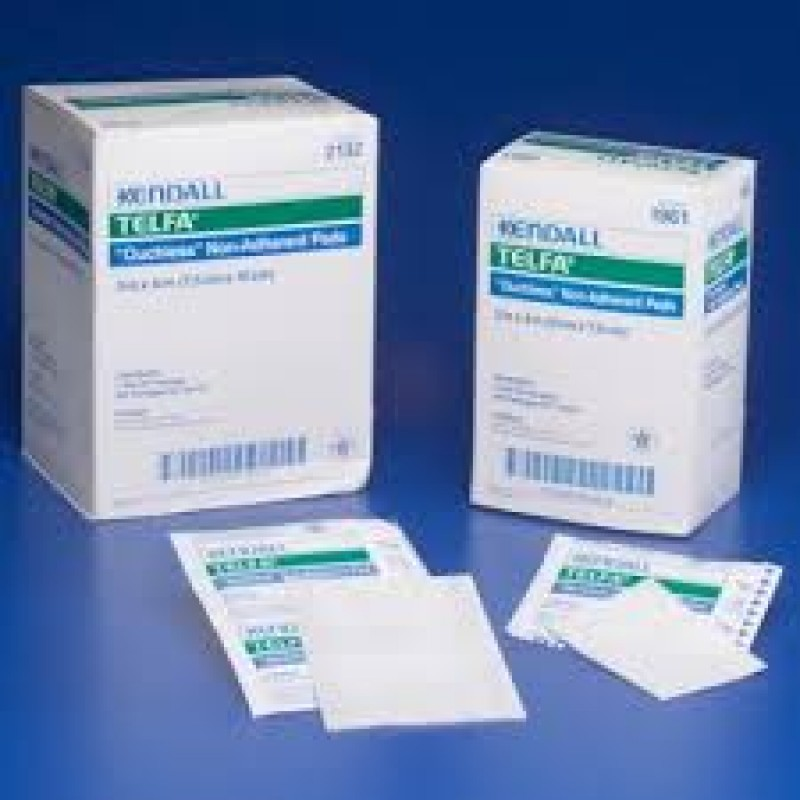 """Tyco Covidien 1961 - TELFA Ouchless Non-Adherent Dressing, 2X3"""", STERILE 1's, BX 100"""