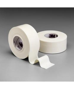 3M 1528-1 - 3M Microfoam Tape 1 inch x 5-1/2 yard (stretched) (2,5cm x 5m (stretched)) Elastic foam, hypoallergenic tape, BX 12