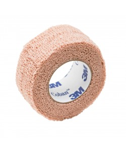 3M 1584K - 3M Coban Self-Adherent Wrap 1584K, 4 inch x 5 yard (fully stretched) (100mm x 4,5m), Skin Tone, EA