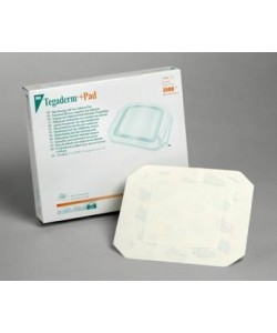 3M™ Tegaderm™ +Pad Film Dressing with Non-Adherent Pad 3582, Dressing size 2 inch x 2-3/4 inch (5cm x 7cm), Pad size 1 inch x 1-1/2 inch