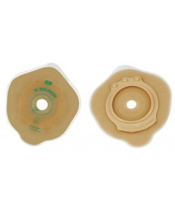 Flexima 3S Standard Wear Flat Baseplate 45mm Pre-cut 20mm