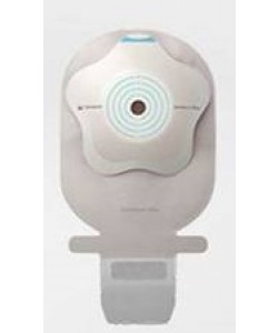 SenSura Mio Concave 1 piece, Cut-to-fit, wide outlet, drainable, transparent, maxi, 35-50mm