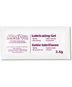 AMG 118-311 - AMG MED-PRO Sterile  Lubricating Gel, 3.5gram Packets, BOX 144