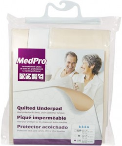 "AMG 760-184 - Quilted Underpad, 34"" x 54"" (86,4 x 137,2 cm), EACH"