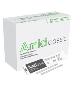 "Amici 3614 - AMICI Classic 7"" Female Intermittent Catheters, 14 Fr.,  Latex Free, DEHP & BpA Free PVC, No Adapter., BX 100"