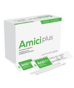"Amici 5608 - AMICI Plus 7"" Female Intermittent Catheters, 8 Fr., Smooth Low-Profile Eyelets, Latex Free, DEHP & BpA Free PVC, No Adapter., BX 100"