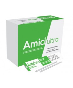 "Amici 7614 - AMICI Ultra 7"" Female Intermittent Catheters, 14 Fr., Fire-Polished eyelets, Latex Free, DEHP & BpA Free PVC,, BX 100"