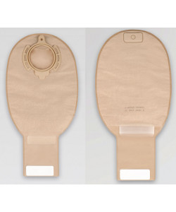 "B.Braun 932480NA - Flexima 3S Drainable Pouch (Roll'Up) Maxi (12"") Beige 80mm w/ Filter, BX 10"
