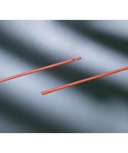 "Bard 0094180 - BARD 18Fr, 16"" Red Rubber Urethral Cath, Funnel End, BX 100"
