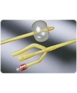 Bard 0119L20 - BARDEX Lubricath, 3-Way 20Fr, 5cc  Catheter, Amber Latex, Hydrogel Coating, CS12