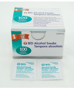 BD 326910 - BD Alcohol Swabs, BX 100