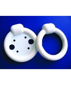 "Bioteque RKS4 - Ring Pessary with Knob #4 with Support, 2.75"" O.D. 2"" I.D.(RK2.75S#4)., EA"