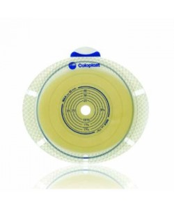 SenSura 2 pc. Flex Xpro Convex light Skin Barrier Flange, 70mm (yellow) 15-53 (cut to fit) 15-53mm