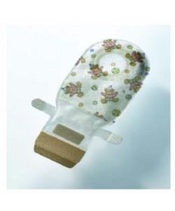 Easiflex® Pediatric Pouch w/ EasiClose™, Transparent, Purple 150mL