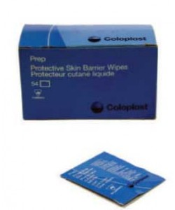 Coloplast Prep™ Medicated Protective Liquid Skin Barrier, Single-Use Towelettes Bx/54 towelettes