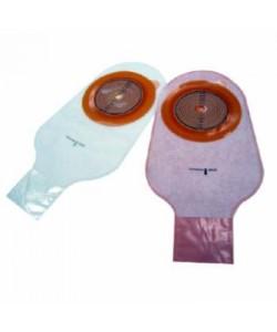 "Assura® 1 pc. Standard Wear, Drainable Pouch, Cut-to-Fit, Non-Convex, Transparent (30cm) 3/8"" - 2 3/4"" (10-70mm)"