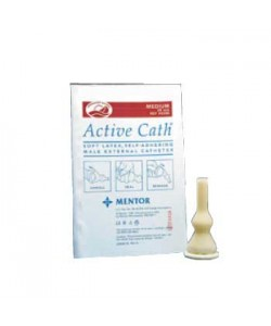 Active Cath® Self-Adhering Extended Wear Male External Catheter (Latex) Medium, 28mm (New #506200)