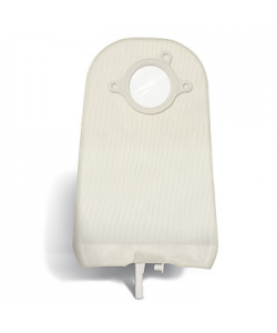 """SUR-FIT Natura®  Uro. Pouch w/ Bendable Tap, Std, transp, 57mm (2 1/4""""), Two Piece System"""