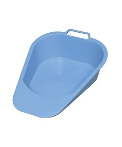 "Dynacor D80220 -  Plastic Bedpan. Kidney Shaped, 13 oz, 8"" x 3.5"" x1.5"". EACH., EACH"