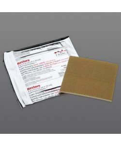 RESTORE Non-Adhesive Foam/Silver Dressing with TRIACT technology, 10 cm x10 cm