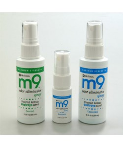 M9 Unscented Odour Eliminator Spray 8oz. EACH