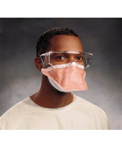 N95 Respiratory Mask with Shield & Safety Seal Film-Adult Size. **NO RETURNS.