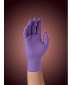 Kimberly-Clark 55084 - Kimberly Clark Safe-Skin Polymer Powder Free Nitrile Purple Gloves, XL., Bx/90 EA.