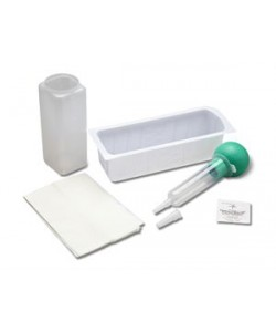 Medline DYNDCA20100 - Medline Irrigation Tray, Control-Bulb Syringe, PVP Pad, Jar, Drape,CSR Wrap., CS/ 20