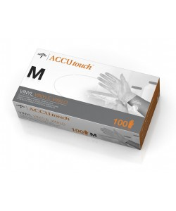 Medline MDS192075 - VINYL GLOVES, POWDER FREE, MEDIUM - CASE OF 10 BOXES OF 100, CS OF 10BX