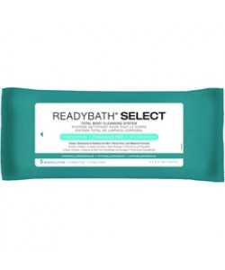 Medline MSC095109 - READY BATH BASIC, Fragrance Free, 5 Per Pk, 30 Pk Per Case., 30pkg/CS