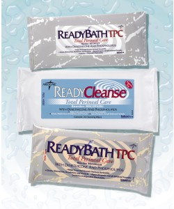 "READY BATH TPC, 8""x8"" Triple Thick Cloth 3-per pack., 72pk/CS"