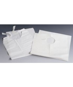 Medline NON24267 - Disposable Plastic Waterproof Bib (NON24267 CS), CASE 500