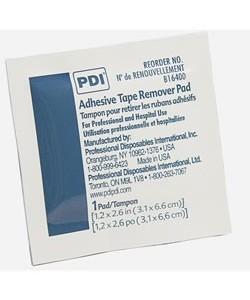 PDI B16400 - P.D.I. Adhesive Tape Remover Wipes, BX 100, BX 100