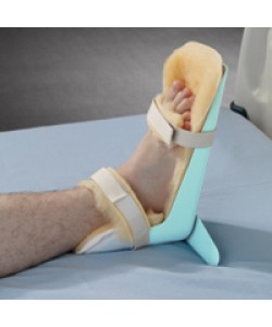 POSEY Foot Guard w/ washable Synthetic Fur Liner+T-Bar, Fits either L or R foot