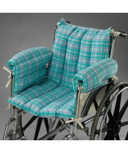 Posey 6526 - Posey Comfy-Seat Microfiber Seat & Back Set for Wheelchair, EA