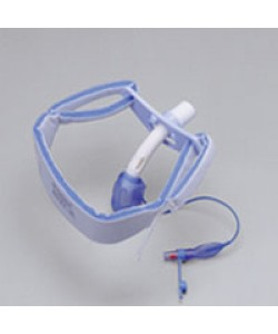 "Posey 8197M - POSEY Foam Tracheostomy Tie, Medium, Adolescent & Adult necks to 21"", BX 12"