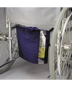 WHEELCHAIR DRAINAGE BAG HOLDER, CANVAS