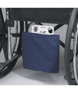 WHEELCHAIR DRAINAGE BAG HOLDER, VINYL