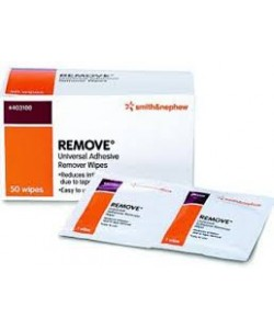 Smith&Nephew 403120 - REMOVE ADHESIVE REMOVER WIPES-Box 50., BX 50