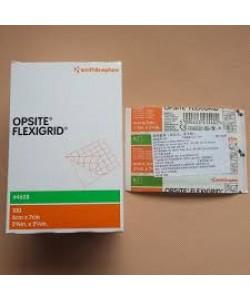 Smith&Nephew 4628 - OPSITE I.V. Catheter Dressing Flexgrid 6cm x 7cm, BX 100
