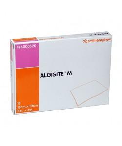 "Smith&Nephew 66000520 - ALGISITE M, Non Woven Calcium Alginate Sterile Dressing, Latex Free, 4""x4""., BX/10"