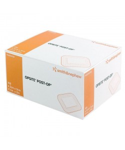 Smith&Nephew 66000708 - OPSITE Post-Op, Substrate Dressing, 6.5 cm x 5 cm, Bx/100., Bx/100