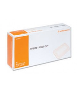 Smith&Nephew 66000709 - OPSITE Post-Op Substrate Dressing, 9.5 cm x 8.5 cm, Bx/20., BX 20
