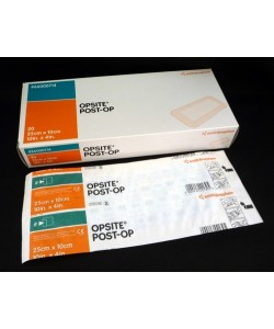 Smith&Nephew 66000714 - OPSITE Post-Op Substrate Dressing, 25 cm x10 cm, Bx/20., Bx/20