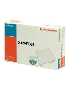 Smith&Nephew 66800559 - Durafiber Gel Fiber Dressing, 5cm x 5cm, BX 10