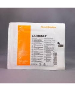 Smith&Nephew 7064 - Carbonet* Non-Adherent Odor Absorbent Dressing, 10cmX10m, Sterile, Latex Free, BX 10