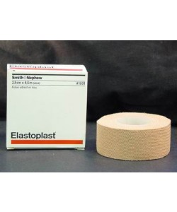 BSN Medical 7206902 - Elastoplast(Tensoplast) Elastic Adhesive Strong Support Tape, 2.5 cm x 4.5 m Stretched, ROLL