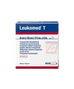BSN Medical 7238202 - LEUKOMED T-PLUS Transparent Dressing 8cm x 15cm Sterile (# 72382-02), BX 50
